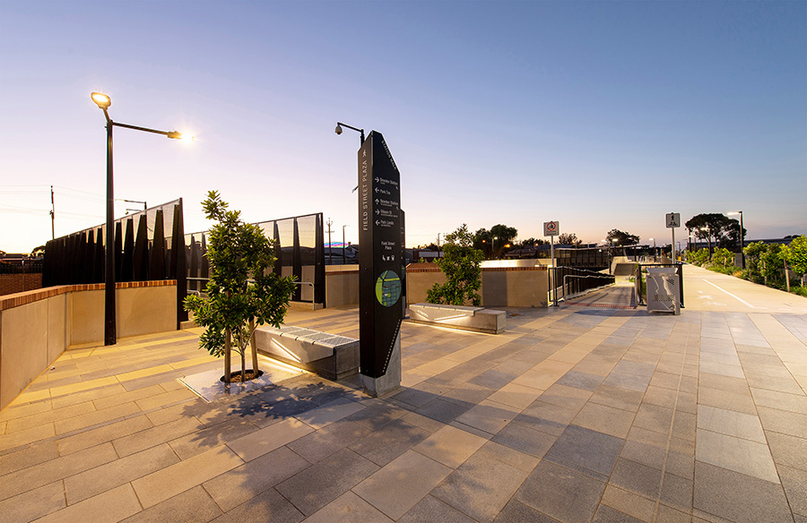Torrens Junction Rail Separation Project Bowden Station by Cox Architecture