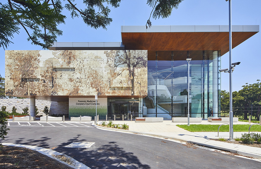 Forensic Medicine Coroners Court Complex by Cox Architecture