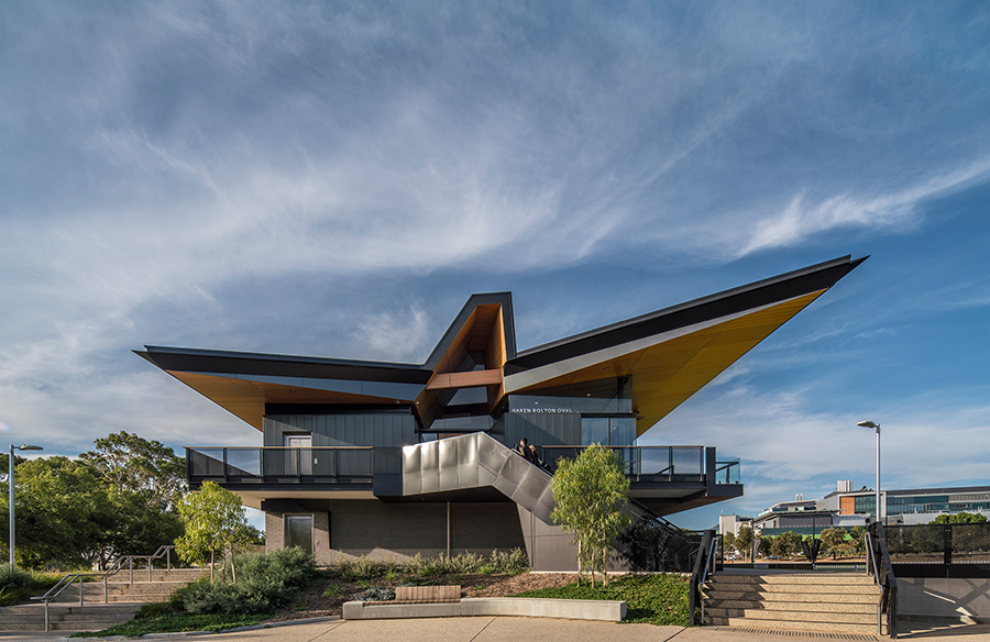Karen Rolton Oval at Narnungga Park 25 by Cox Architecture