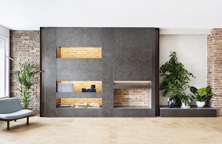 Melange Maisonette by Amos Goldreich Architecture