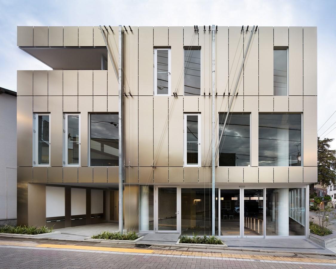 Kugayama South Gate Building by Sasaki Architecture - Sheet1