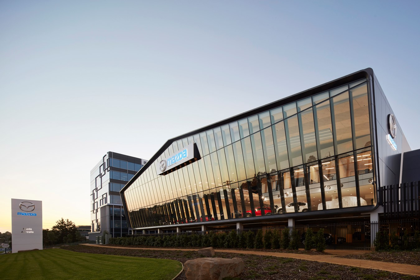 Mazda Headquarters by Cox Architecture - Sheet1