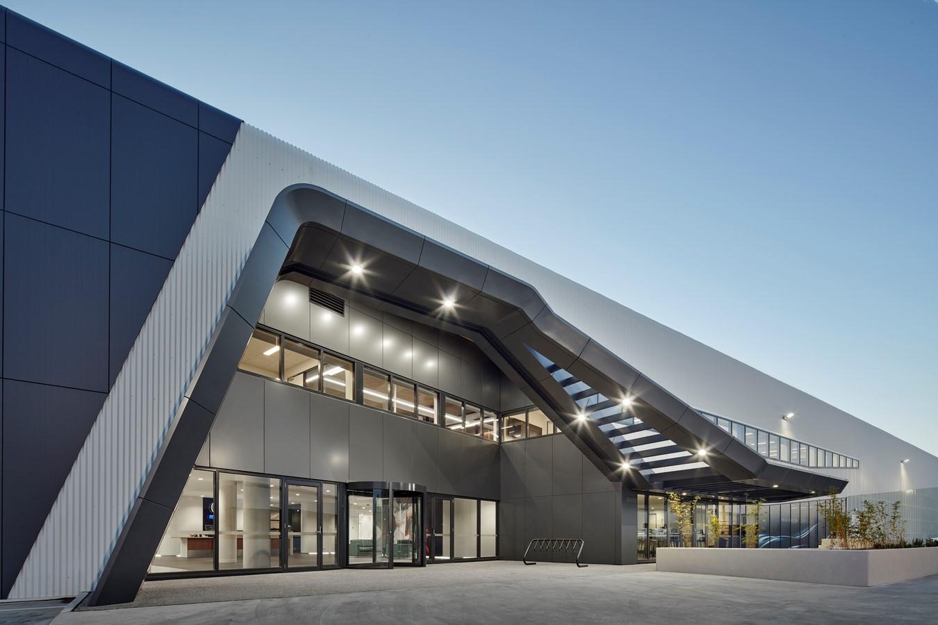 Mazda Headquarters by Cox Architecture - Sheet2