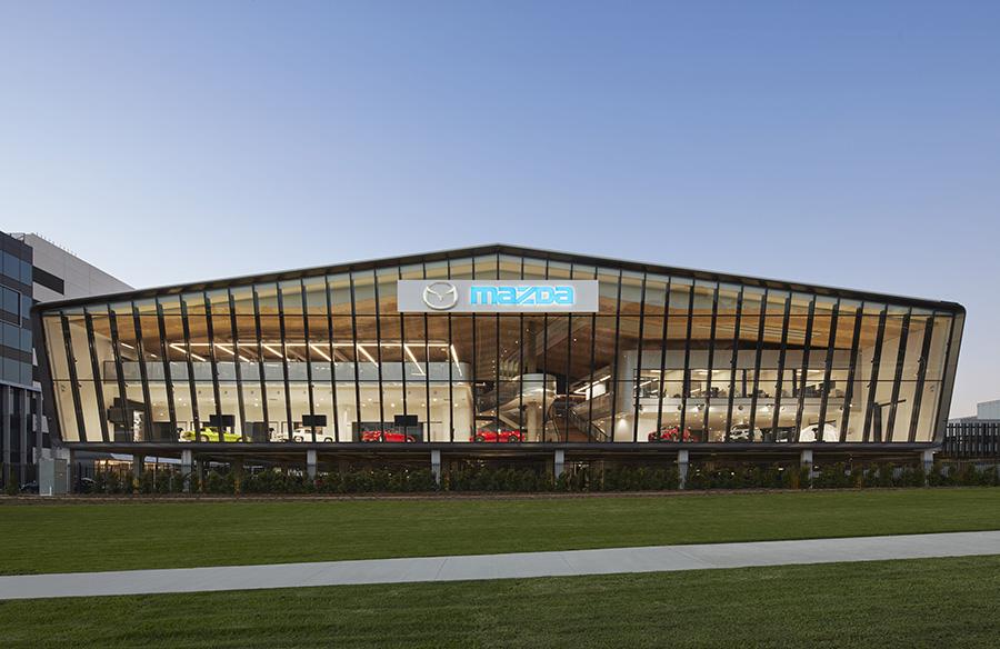 Mazda Headquarters by Cox Architecture