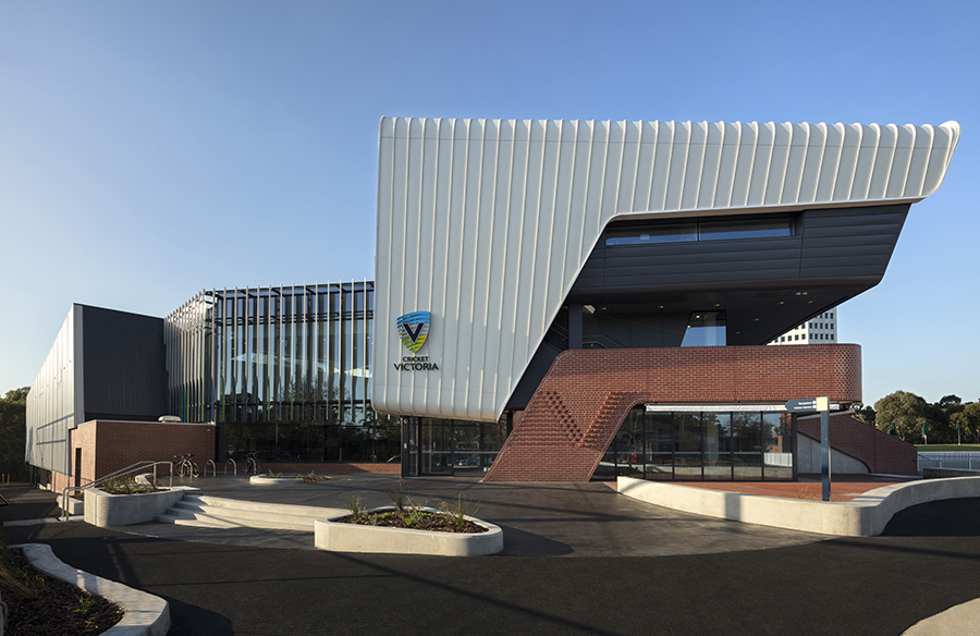 Victorian Cricket and Community Centre by Cox Architecture