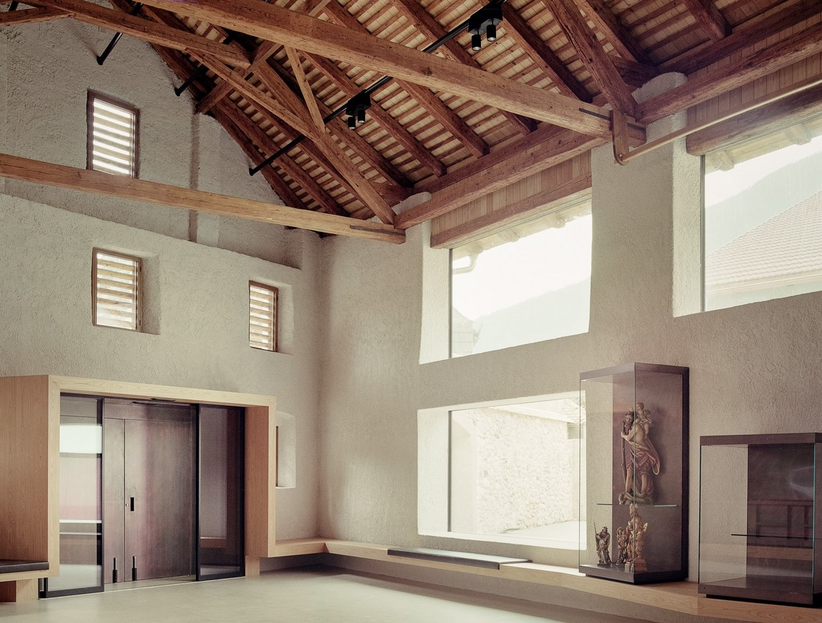 Novacella Abbey Museum addition by MoDusArchitect - Sheet2