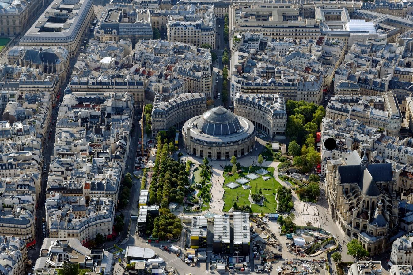 Bourse de Commerce, Paris: A connecting intervention for the future - Sheet1