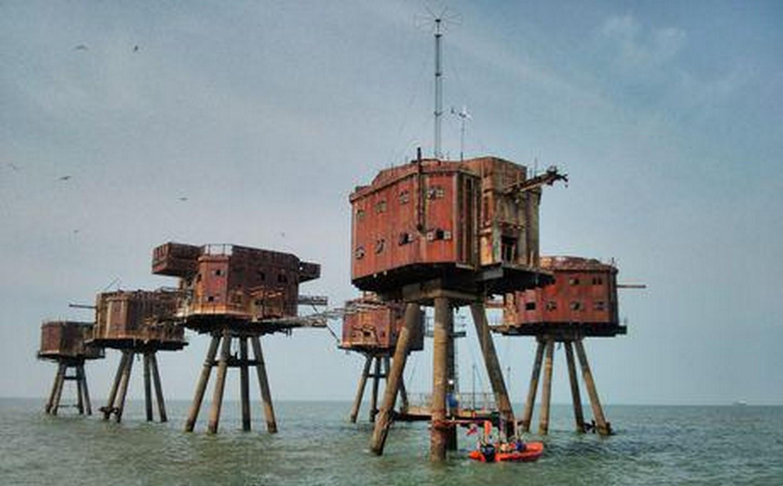 Maunsell Sea Forts - United Kingdom - Sheet1