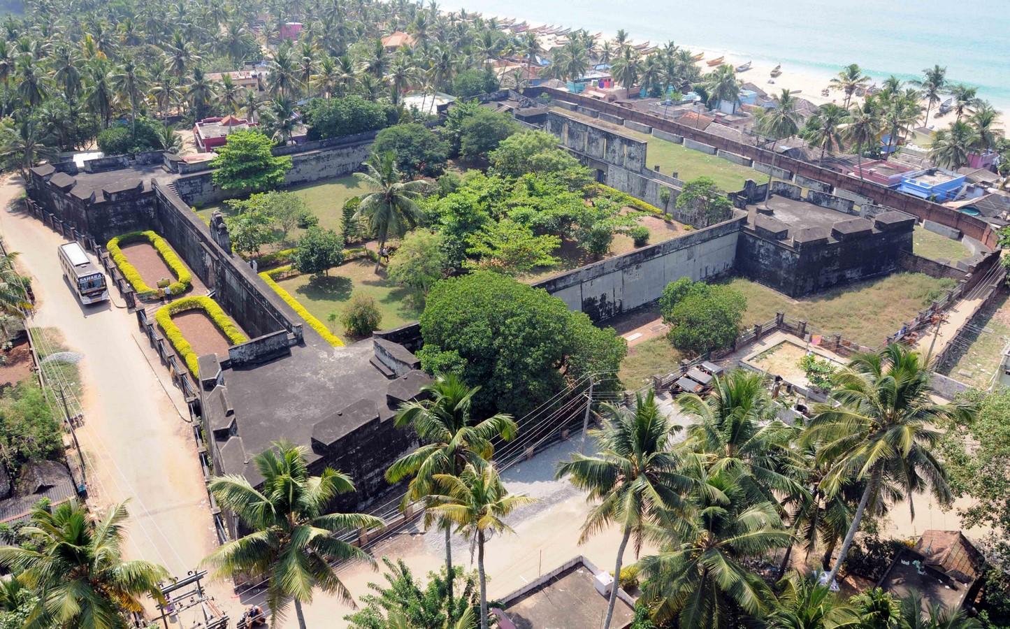 Anchuthengu Fort, Varkala - Sheet1