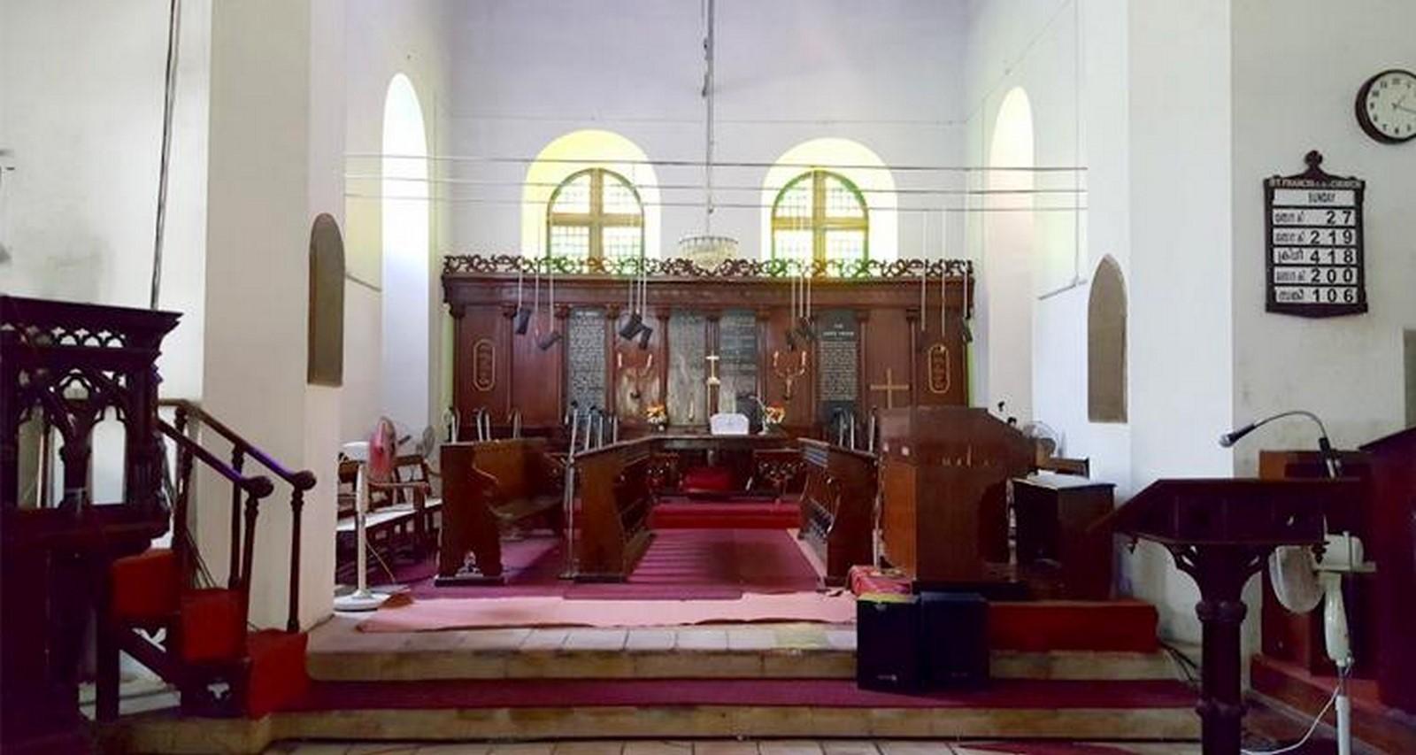 St Francis Church, Kochi - Sheet3