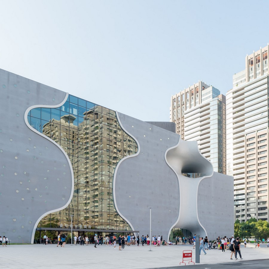 National Taichung Theater by Toyo Ito & Associates: A Cave of Sound - Sheet1