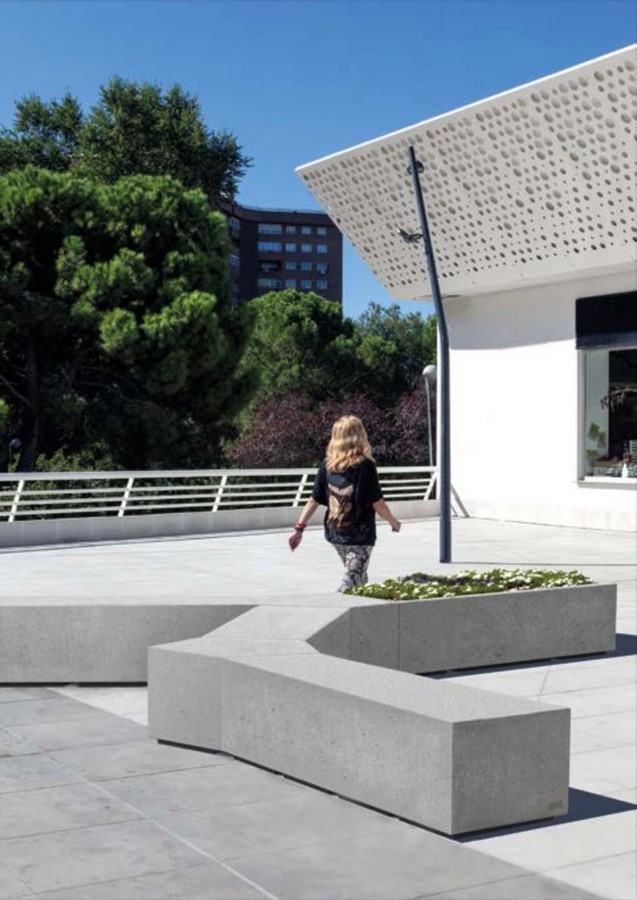 10 examples of recycled concrete - Sheet27