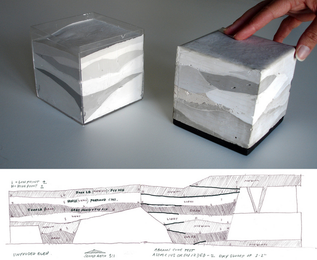 10 examples of recycled concrete - Sheet3