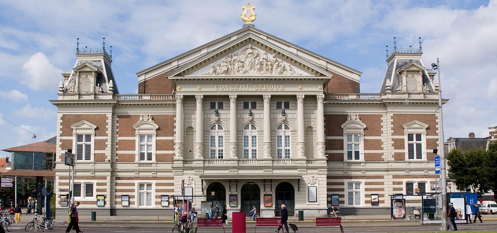 The Royal Concertgebouw by Adolf Leonard van Gendt: Most visited Concert Hall - Sheet1