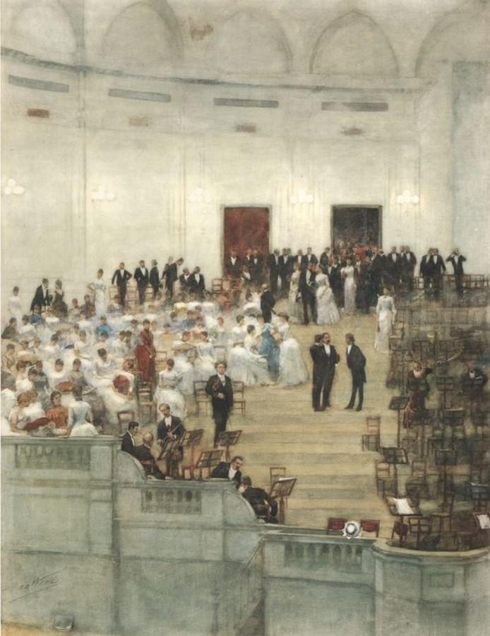 The Royal Concertgebouw by Adolf Leonard van Gendt: Most visited Concert Hall - Sheet5