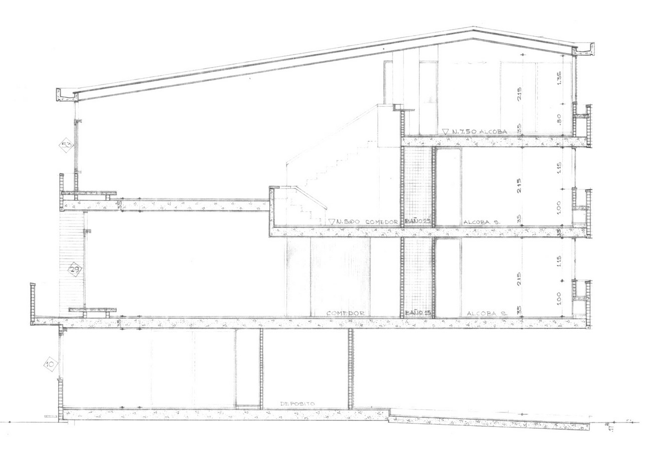 The Story of a House: Ten Houses in Bogotá - Sheet23