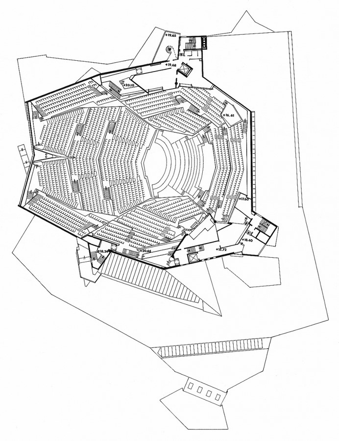 Berlin Philharmonic by Hans Scharoun: Built to replace the old Philharmonie - Sheet13