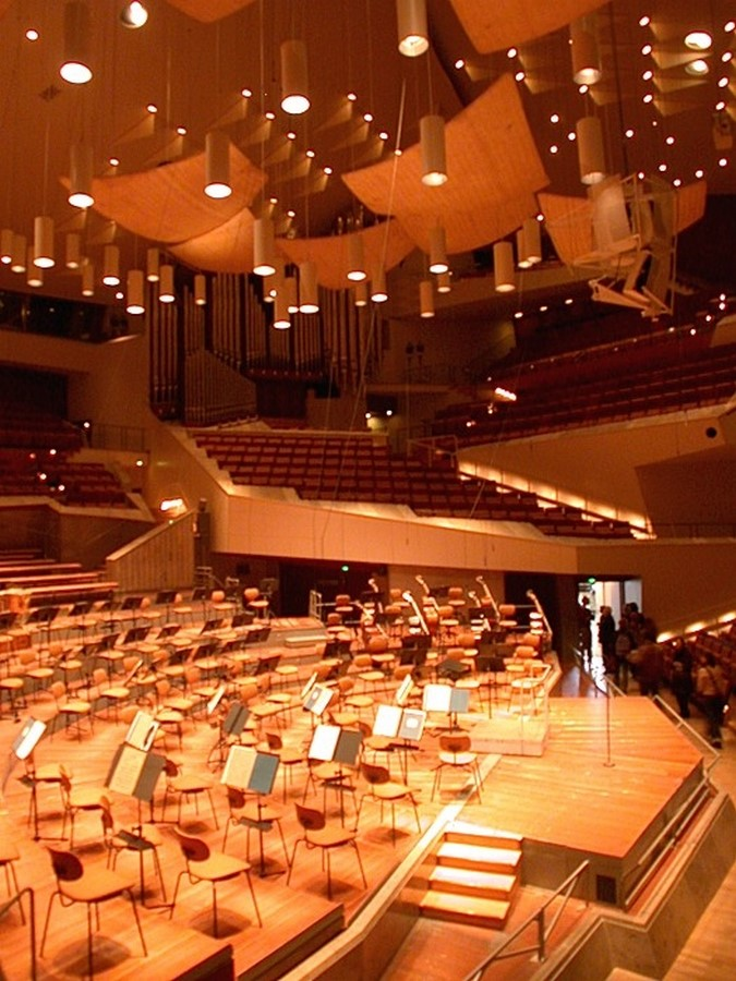 Berlin Philharmonic by Hans Scharoun: Built to replace the old Philharmonie - Sheet7