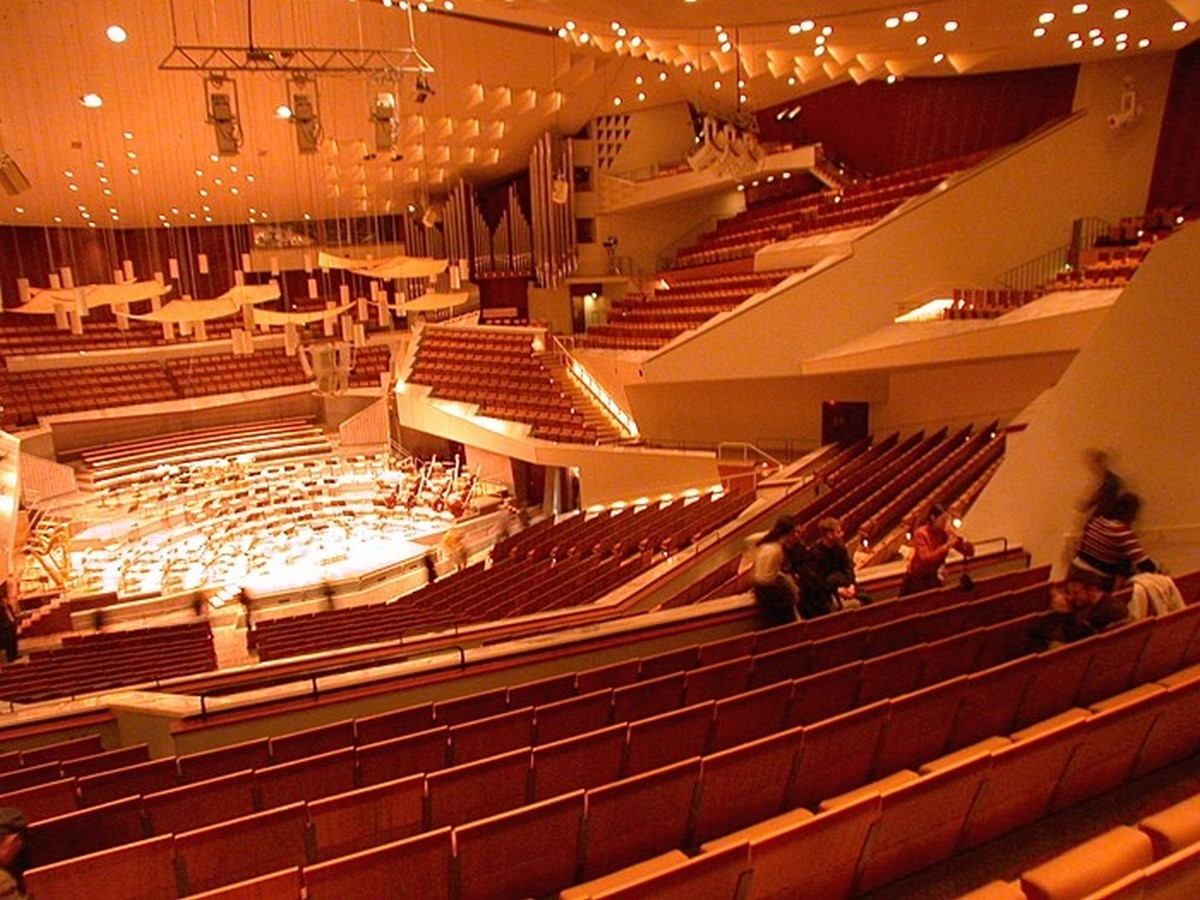 Berlin Philharmonic by Hans Scharoun: Built to replace the old Philharmonie - Sheet8