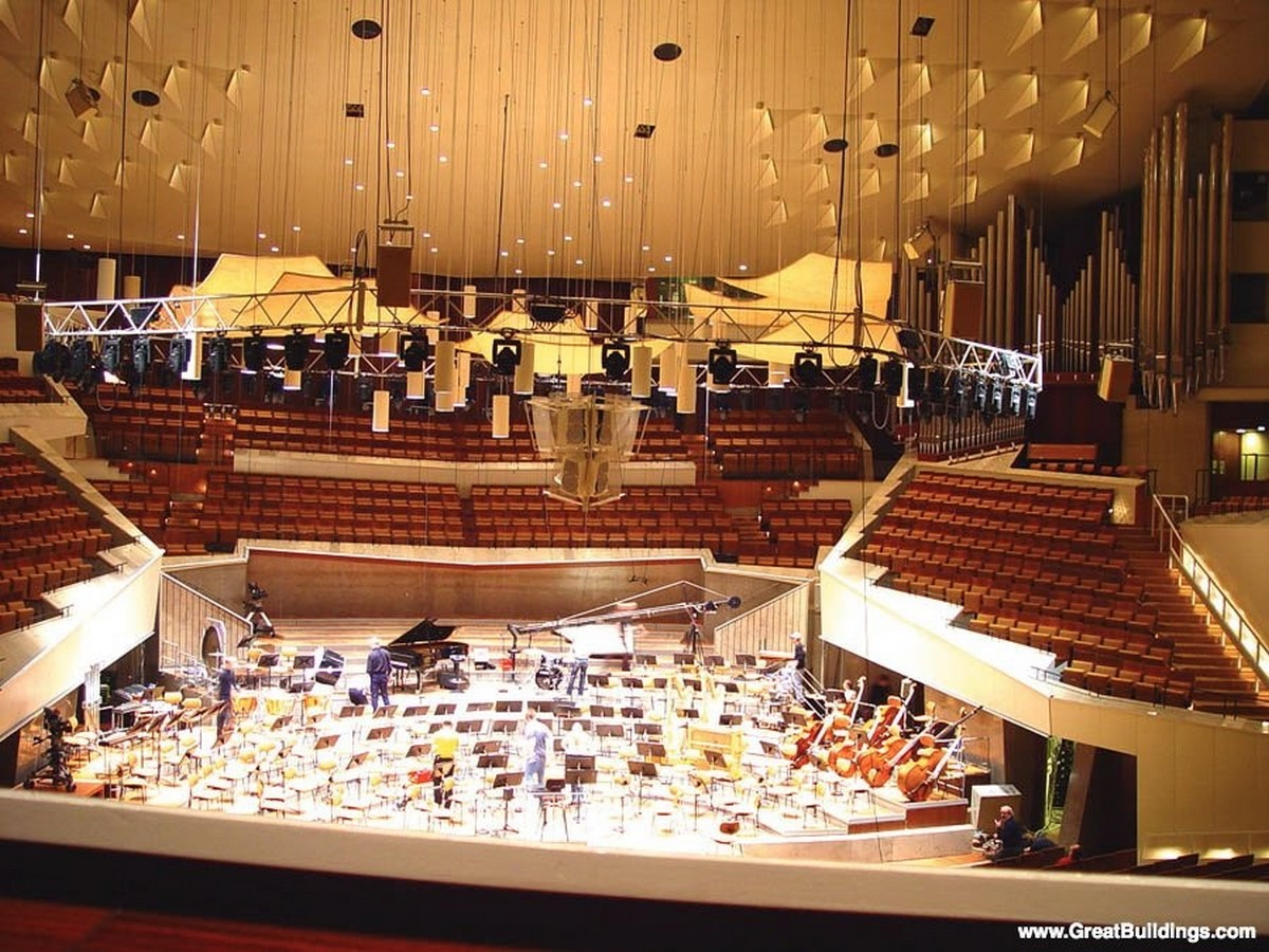 Berlin Philharmonic by Hans Scharoun: Built to replace the old Philharmonie - Sheet9