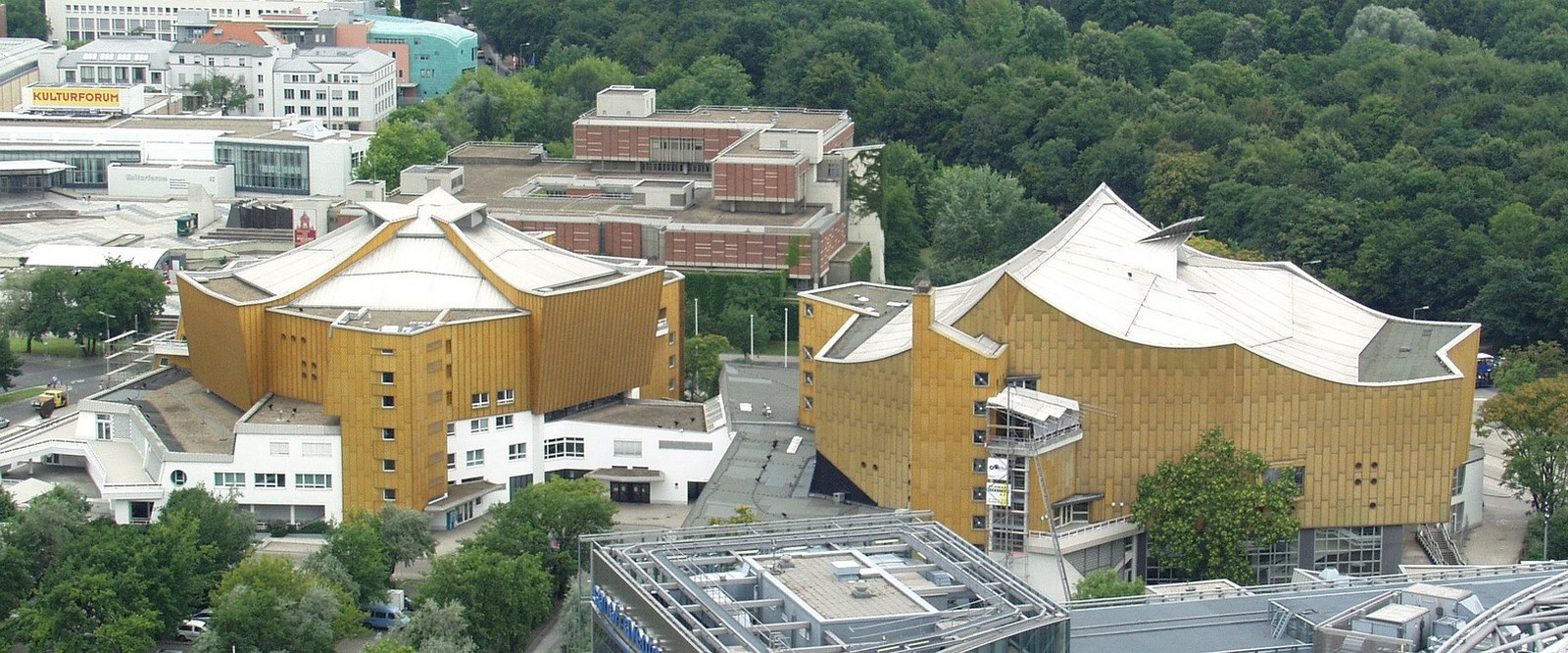 Berlin Philharmonic by Hans Scharoun: Built to replace the old Philharmonie - Sheet1