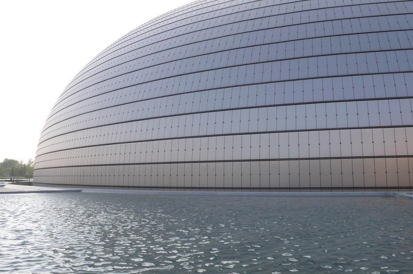 National Centre For The Performing Arts by Paul Andreu: Situated in the heart of Beijing - Sheet1