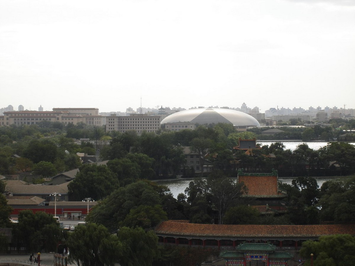 National Centre For The Performing Arts by Paul Andreu: Situated in the heart of Beijing - Sheet3