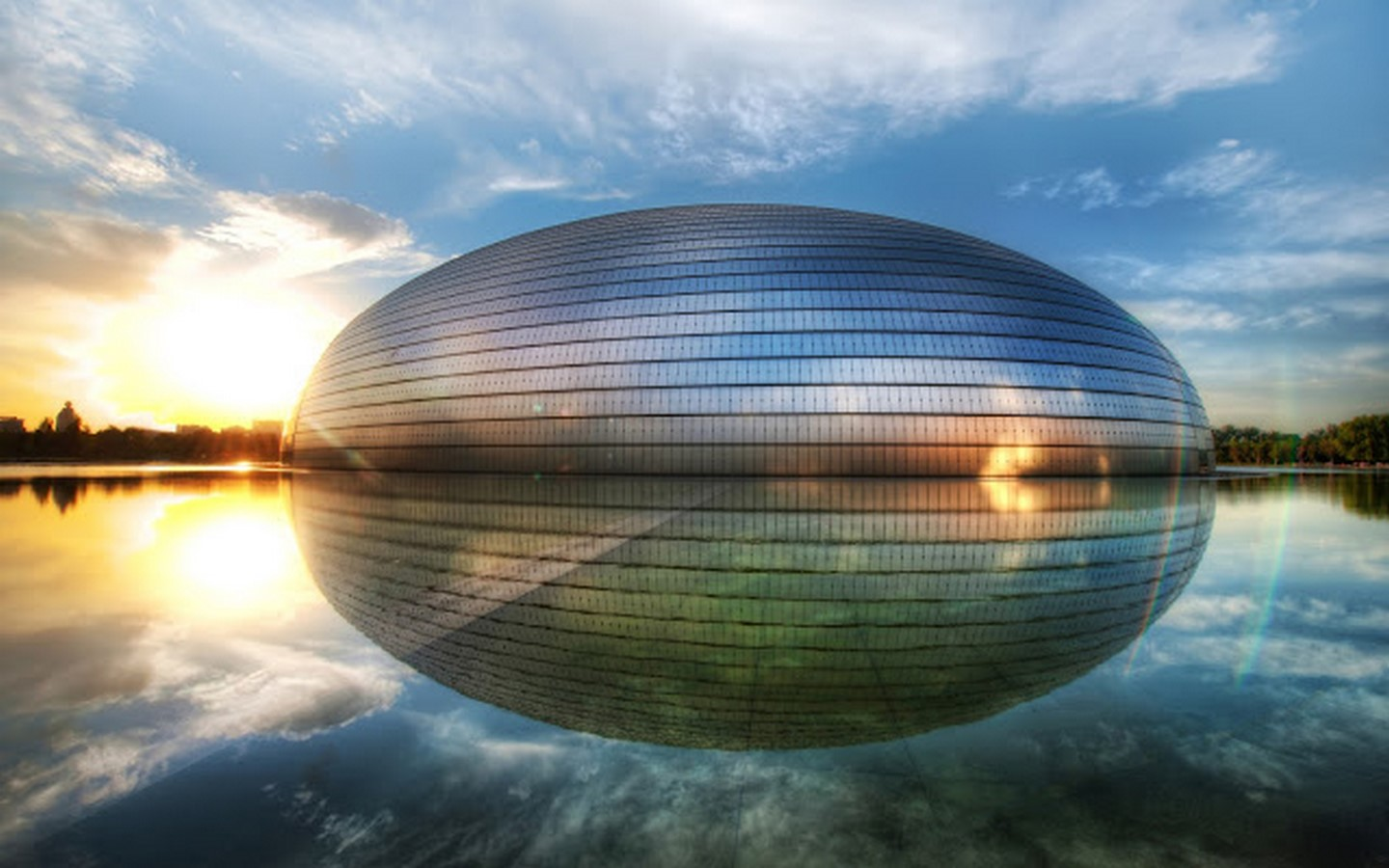 National Centre For The Performing Arts by Paul Andreu: Situated in the heart of Beijing - Sheet5