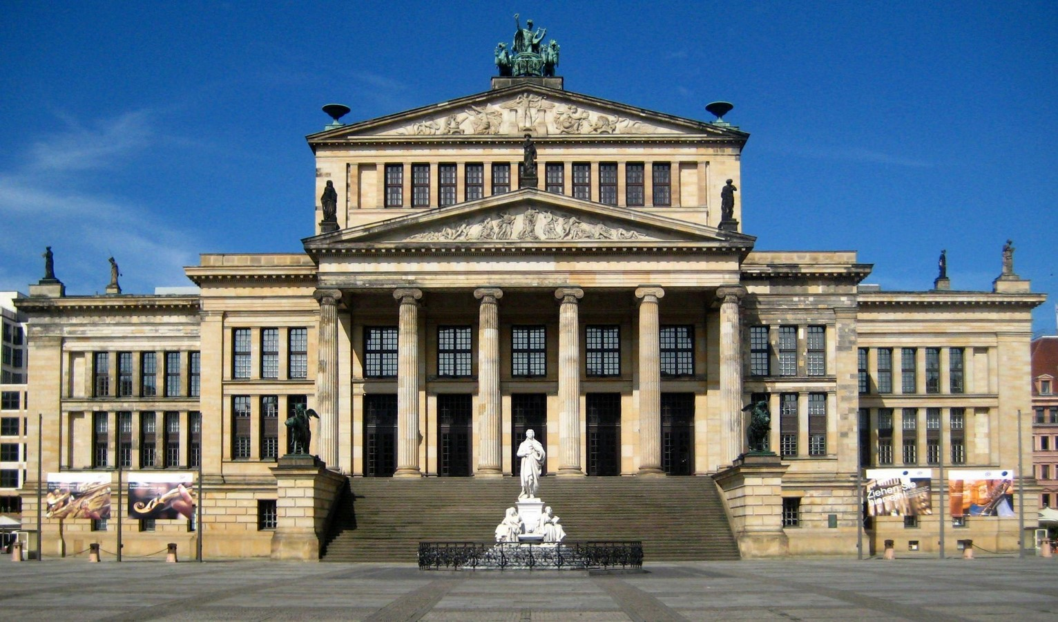 Konzerthaus by Karl Friedrich Schinkel: Witness of Time - Sheet1