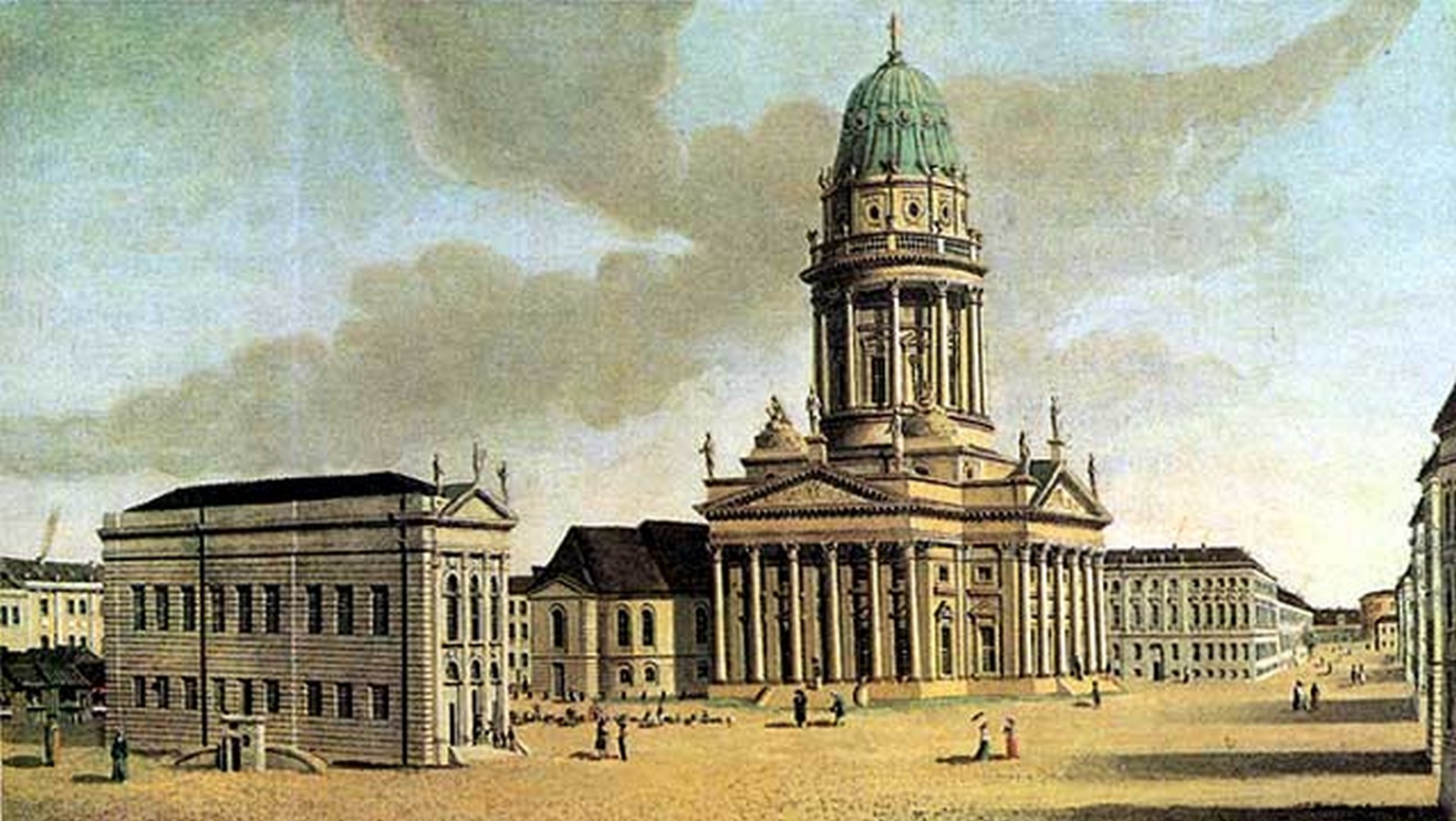 Konzerthaus by Karl Fr2iedrich Schinkel: Witness of Time - Sheet