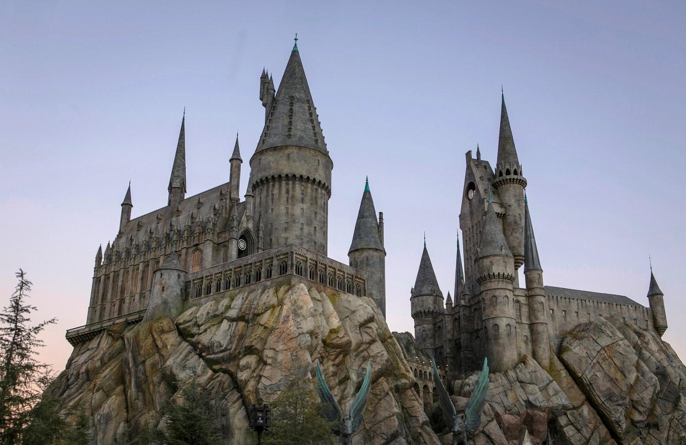 The Wizarding World meets Architectural world - Sheet11