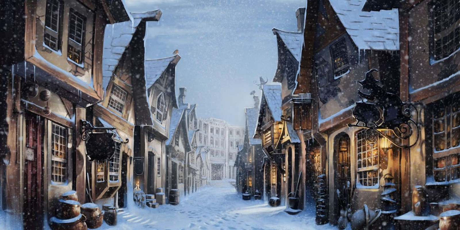 The Wizarding World meets Architectural world - Sheet28