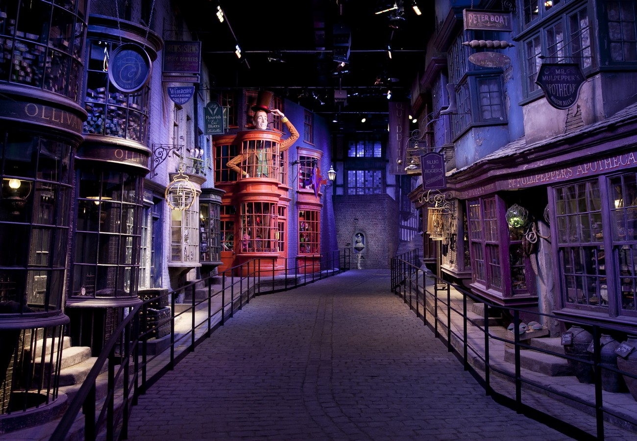 The Wizarding World meets Architectural world - Sheet4