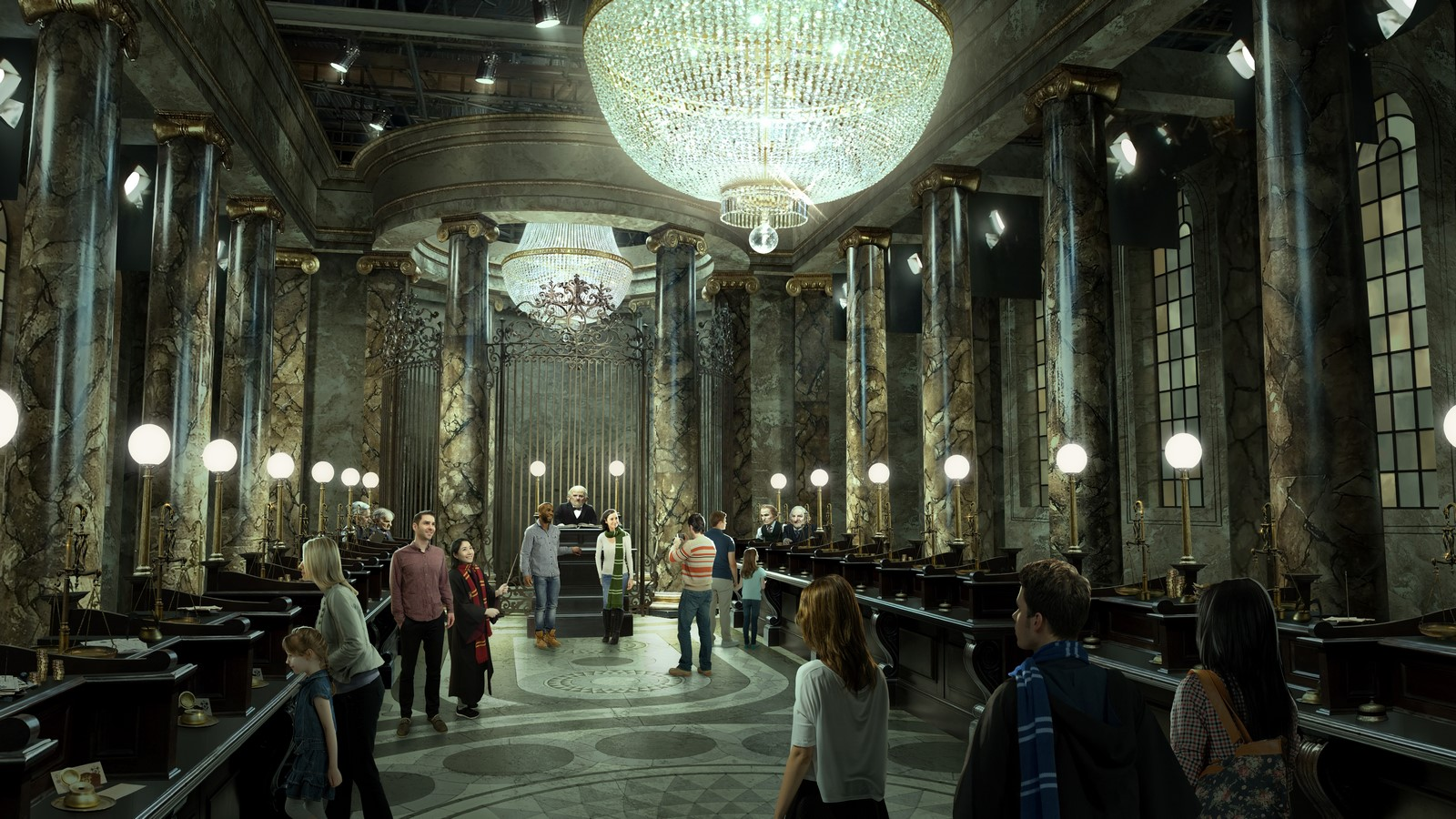 The Wizarding World meets Architectural world - Sheet5