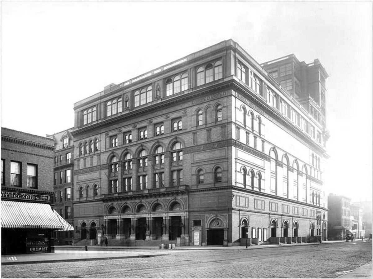 Carnegie Hall by William Tuthill: Historic Landmark and a Vital cultural center - Sheet1