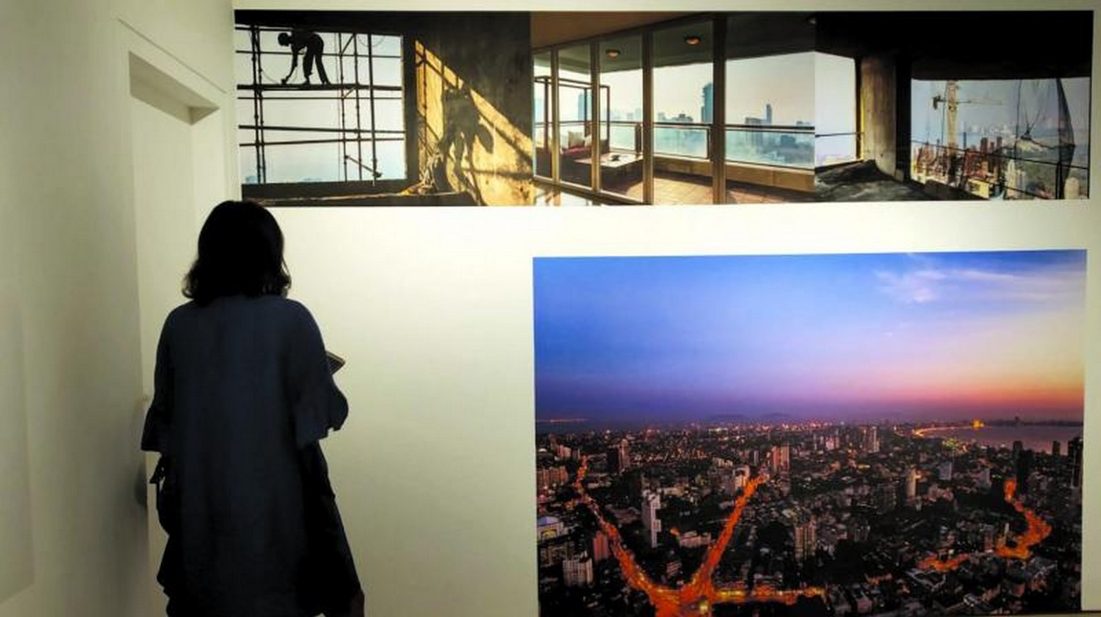 An overview of The Shifting city …city of arrivals and arrived-in [Exhibition] - Sheet1