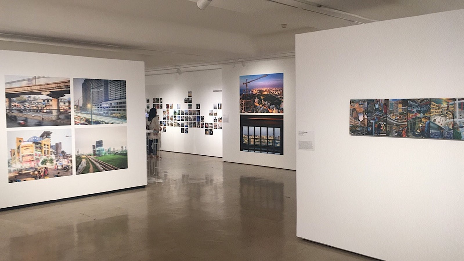 An overview of The Shifting city …city of arrivals and arrived-in [Exhibition] - Sheet3