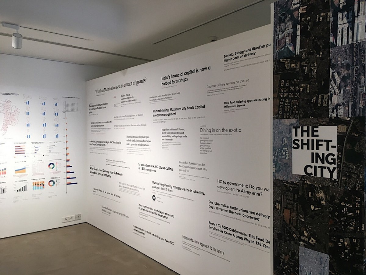 An overview of The Shifting city …city of arrivals and arrived-in [Exhibition] - Sheet5