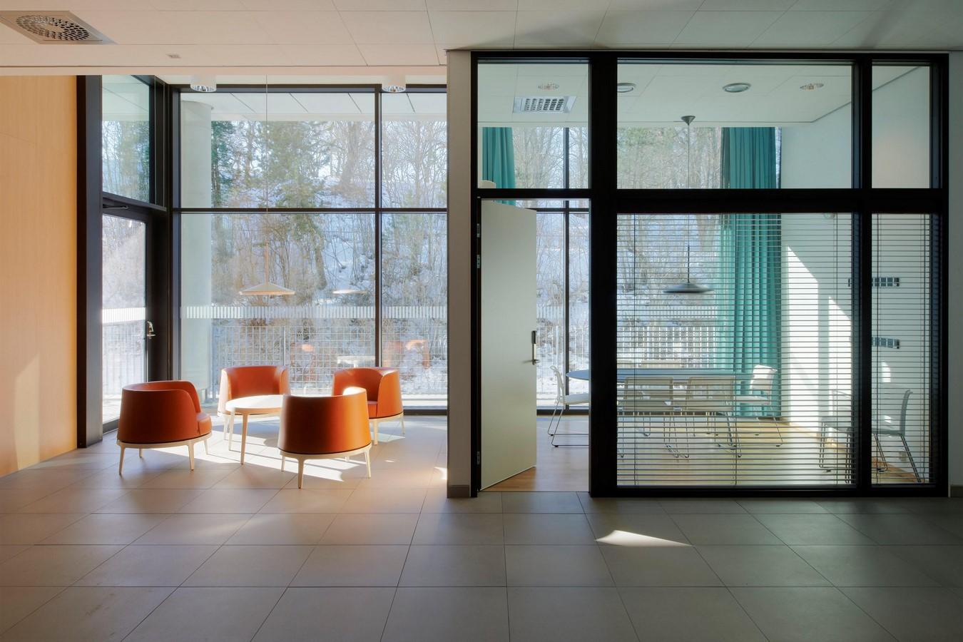 Uppsala University Hospital Psychiatric Building, Sweden - Sheet1