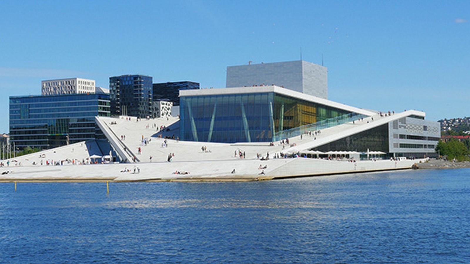 Oslo Opera House by Snøhetta: The wave wall - Sheet1