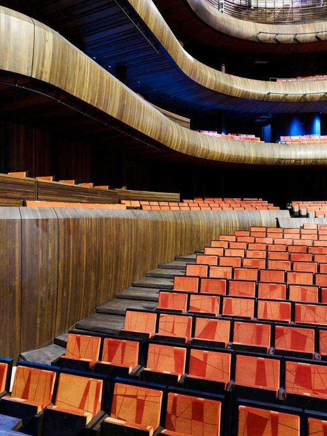Oslo Opera House by Snøhetta: The wave wall - Sheet11