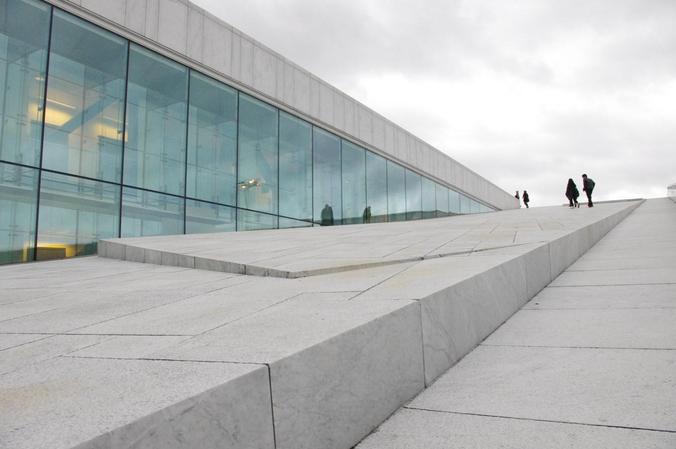 Oslo Opera House by Snøhetta: The wave wall - Sheet14