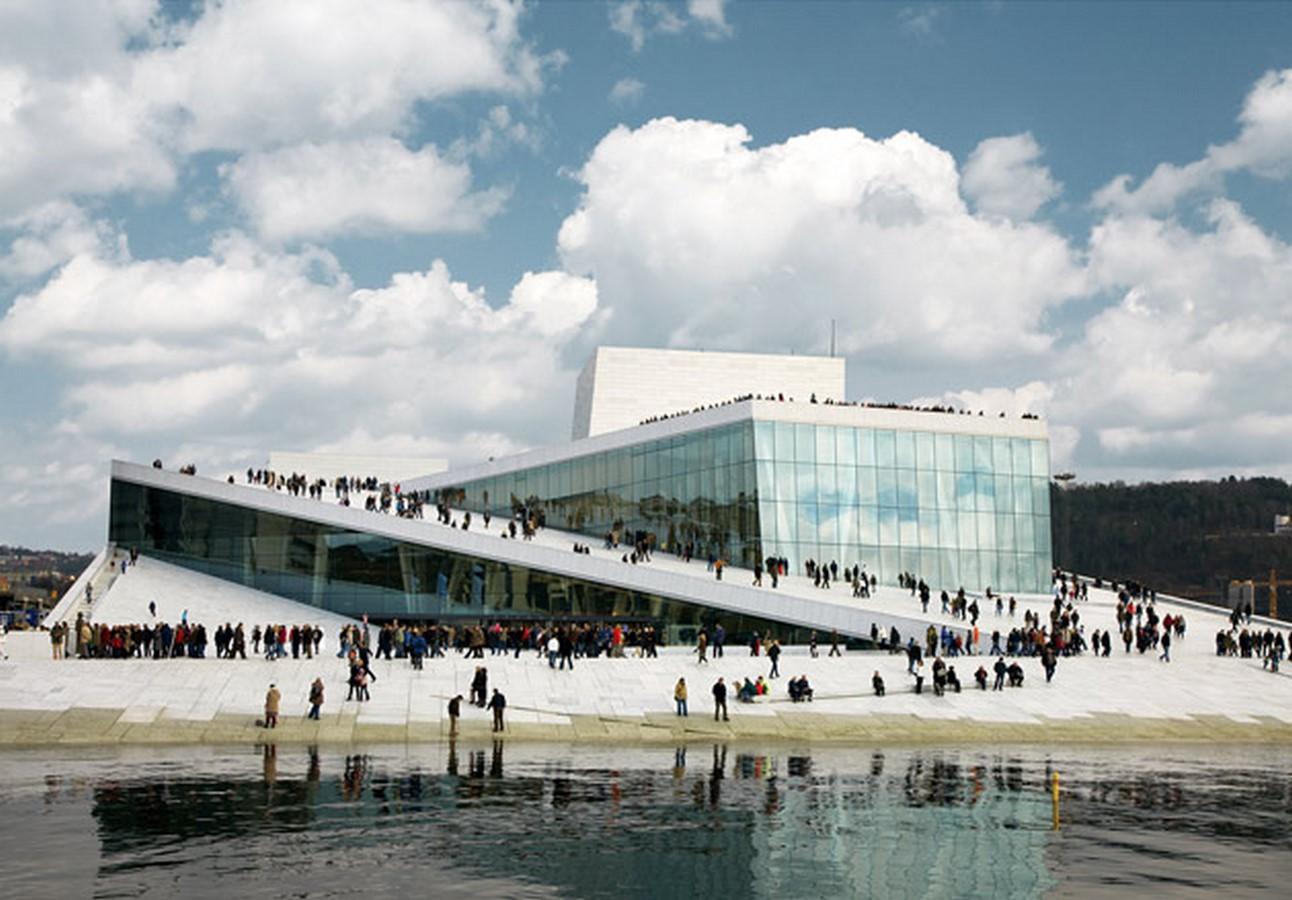 Oslo Opera House by Snøhetta: The wave wall - Sheet15