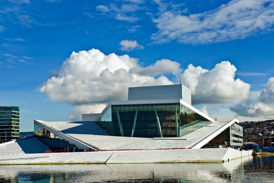 Oslo Opera House by Snøhetta: The wave wall - Sheet8
