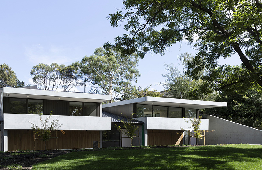 Jacka Crescent Townhouses by CO-AP