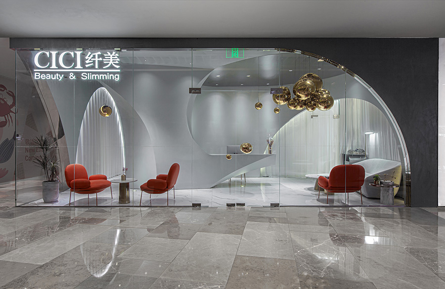 CICI Beauty & Slimming Experience Store by Towodesign