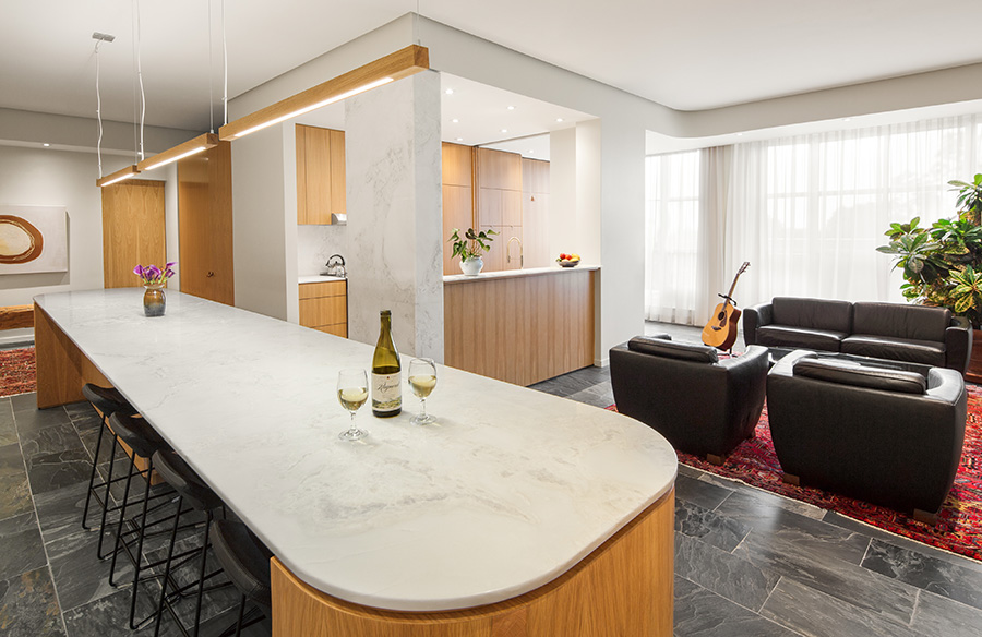 Family Pied-à-terre by Weiss Architecture & Urbanism