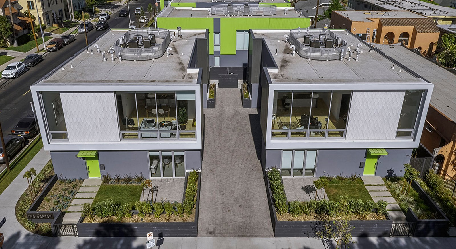 5115 Willoughby Duplexes by Shubin Donaldson: Sheet 1