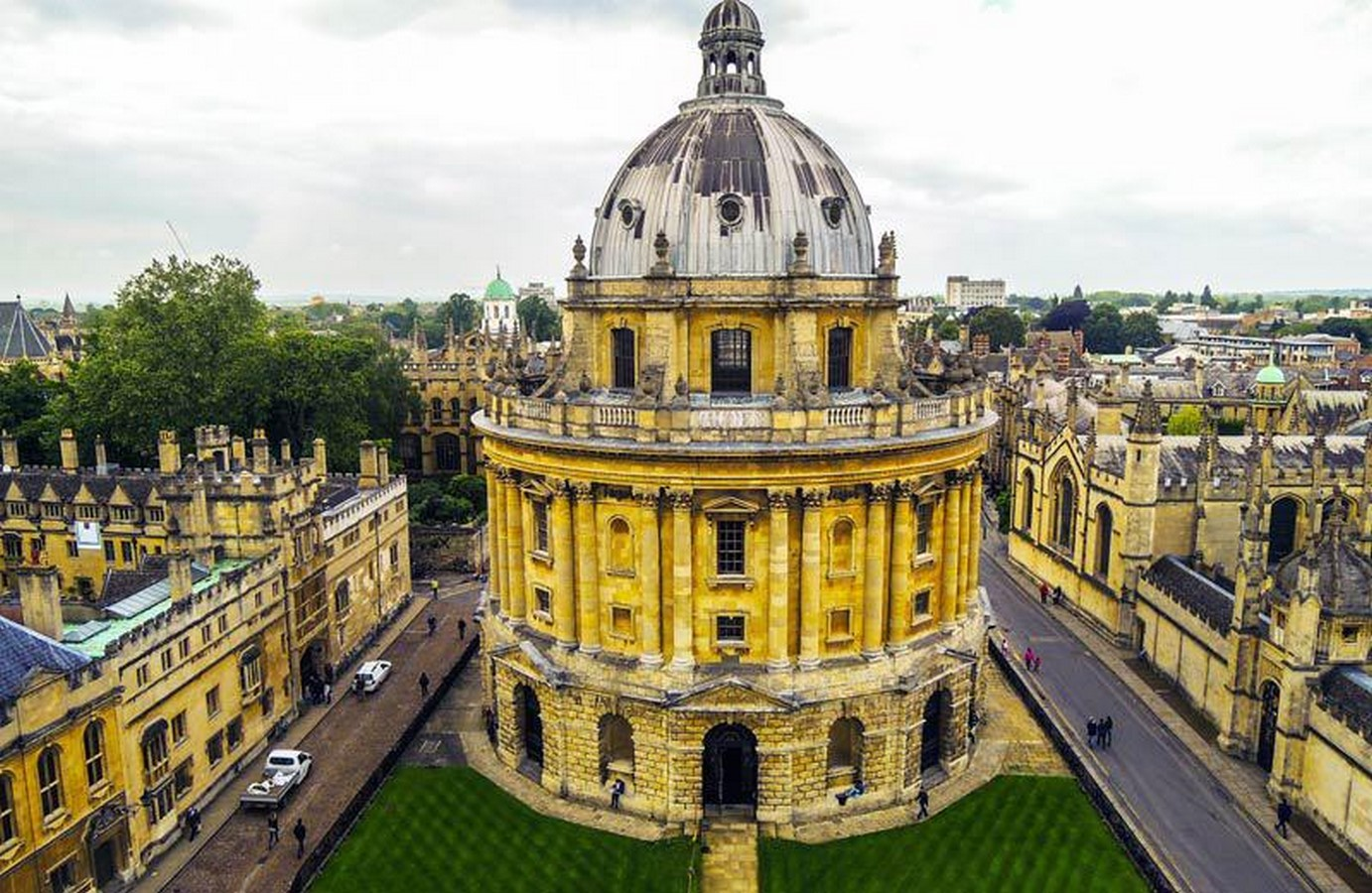 Radcliffe Square, Oxford - Sheet1