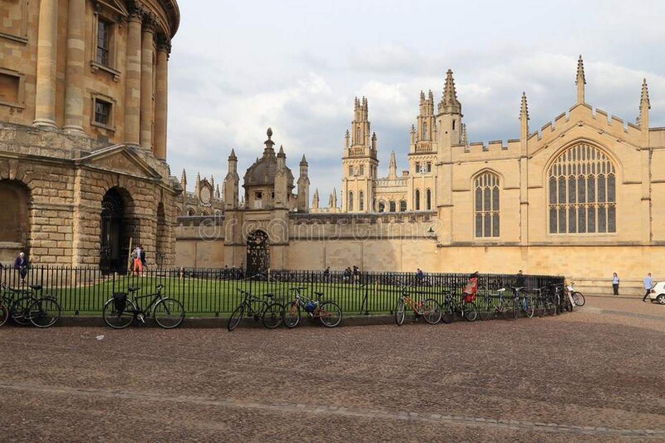 Radcliffe Square, Oxford - Sheet2